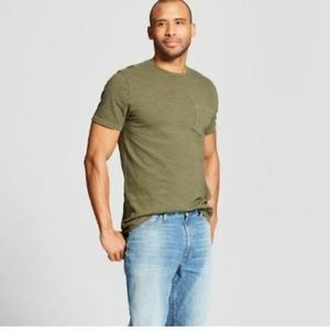 goodfellow & co olive army green tshirt (Men's S)